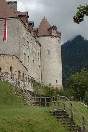 Gruyères, Suisse : The castle