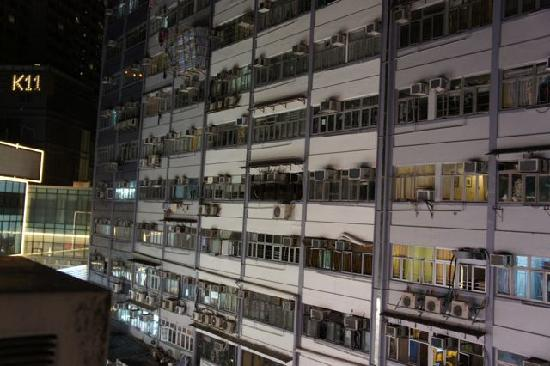 Hao's Inn : 窓からの景色