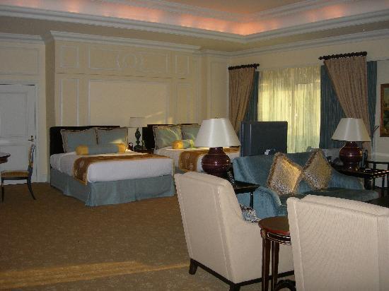 โรงแรมเดอะเวเนเชี่ยน มาเก๊า รีสอร์ท: Living room