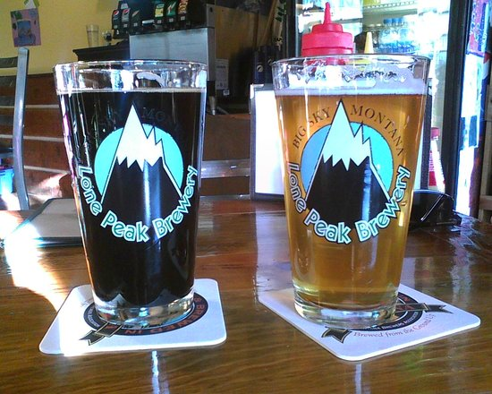 Lone Peak Brewery: Hippy Highway and Nordic Blond