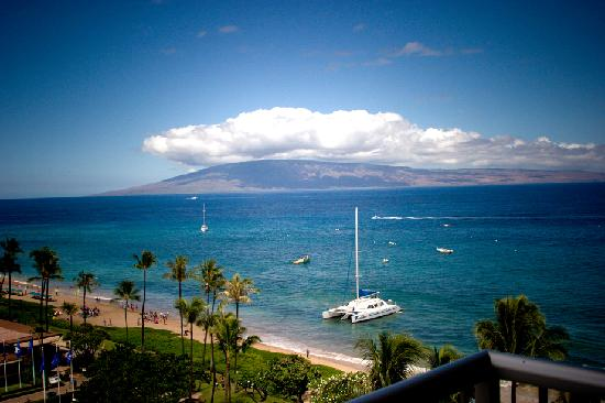 Aston at The Whaler on Kaanapali Beach: View from Condo 1061 at the Whaler