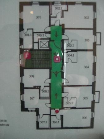 Lady's First Design Hotel : Geschoßplan