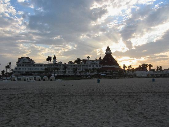 Hotel del Coronado: peaceful - beautiful sunset