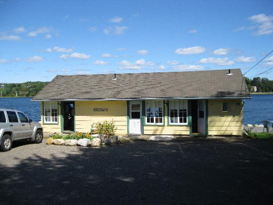 Bridgewater, Kanada: This is the 'boathouse' with it's 3 suites