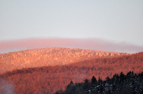 Hawk Inn and Mountain Resort: Morning view