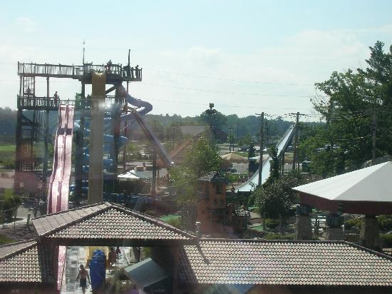 Chula Vista Resort: View of water park from the room