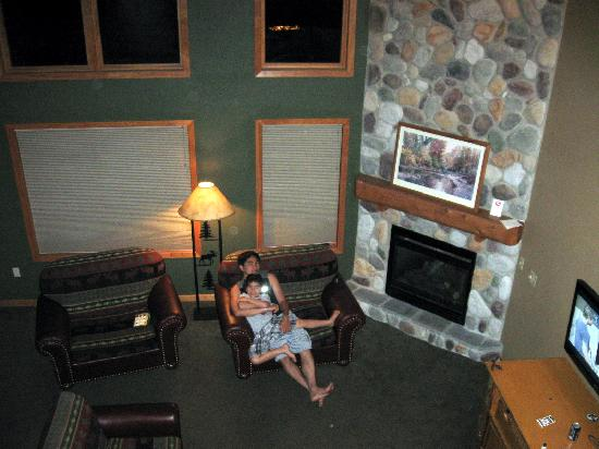 Spacious Living Room Picture Of Wilderness Resort