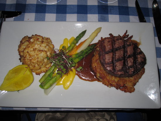 Bavarian Inn Dining Room: Surf & Turf