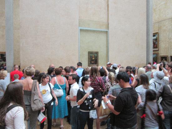 พิพิธภัณฑ์ลูฟวร์: Mona Lisa Crowd