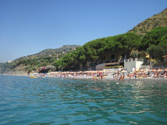 Resort Paradiso Club: vista dal mare