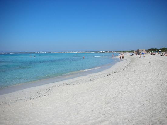 Playa de Es Trenc: La spiaggia
