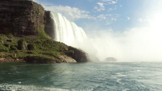"Niagara Falls Marriott Fallsview Hotel & Spa: View from ""Maid of Mist"" Boat"