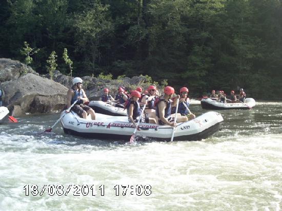 Ocoee Adventure Center: Clay, Ryan, Paul, Allen