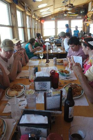 Another Group Shot Picture Of Nags Head Pier Restaurant