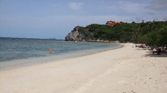 Sarikantang Resort & Spa : plage