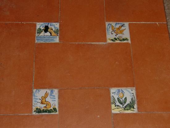 La Almoraima: Floor in the room