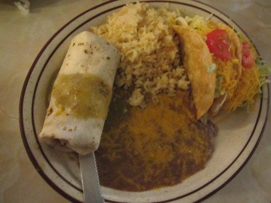Chapala Mexican Restaurant: Burrito and Tacos at Chapla, Sanger, CA