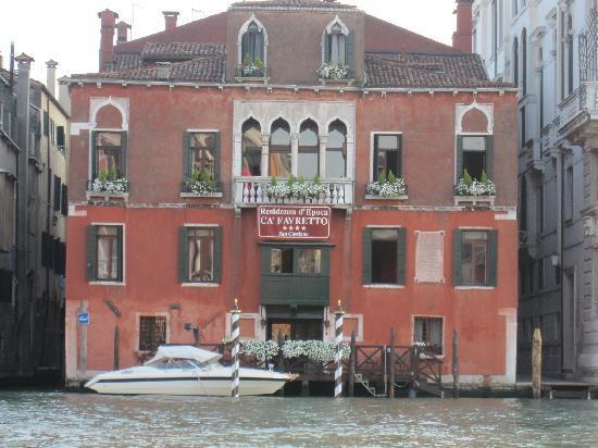 San Cassiano Residenza d'Epoca Ca' Favretto: San Cassiano Hotel, Venice