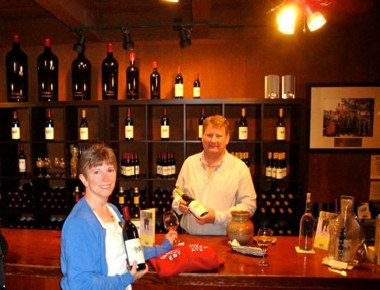 Grgich Hills Estate : Greg was very knowledgeable and patient.