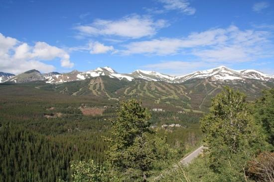 The Lodge at Breckenridge: the view from the hotel