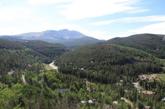 The Lodge at Breckenridge: The view from our room