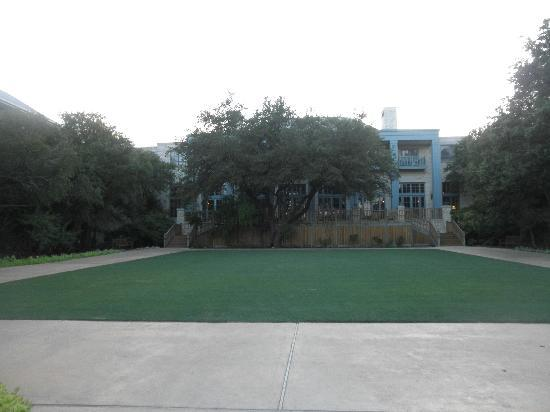 Hyatt Regency Hill Country Resort and Spa: lawn