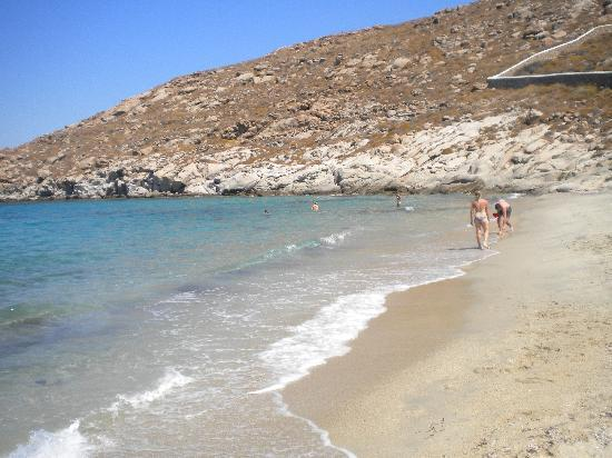 Mykonos Grand Hotel & Resort: spiaggia di Kapari a 1500 metri dall'hotel