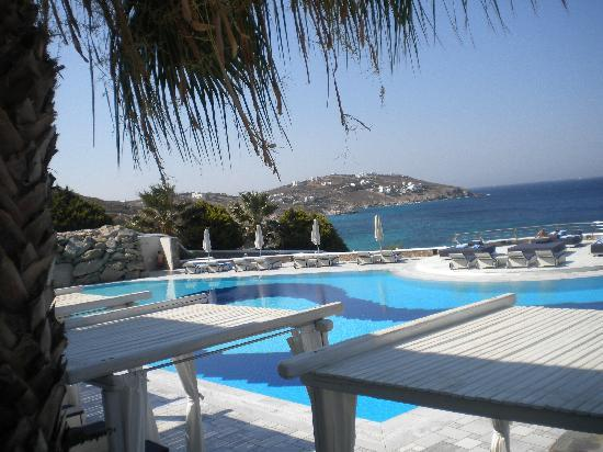 Mykonos Grand Hotel & Resort: piscina dell'hotel