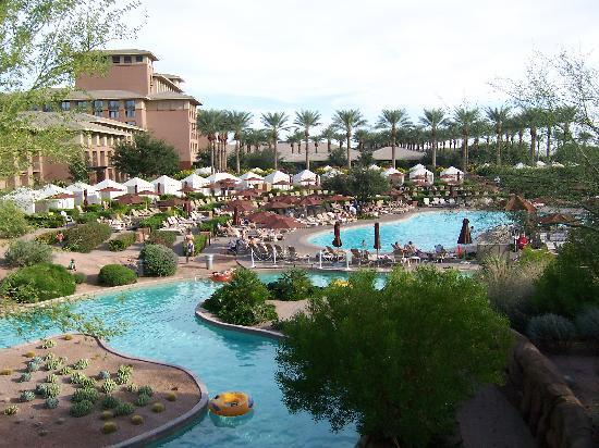 The pond outside of the bar area picture of the westin for Az pond and pool