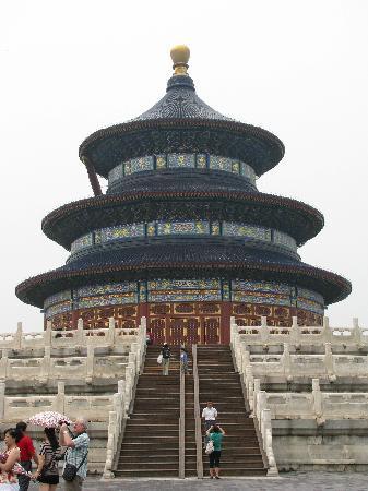 หอเทียนถัน: Temple of Good Harvests in the Temple of Heaven Park