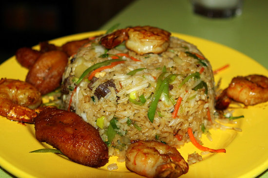 Bongos Cuban Cafe: Cuban Fried Rice at Bongos