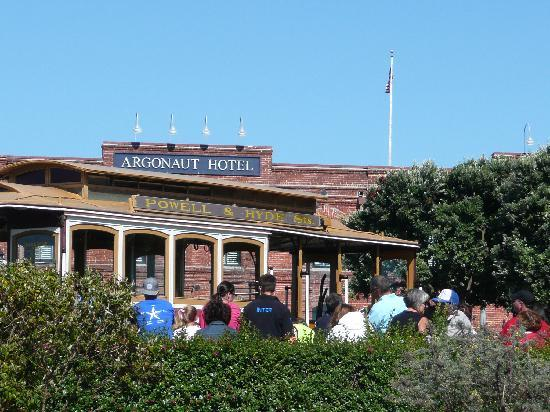 Argonaut Hotel, A Noble House Hotel: Cable Car terminus with the hotel in the background