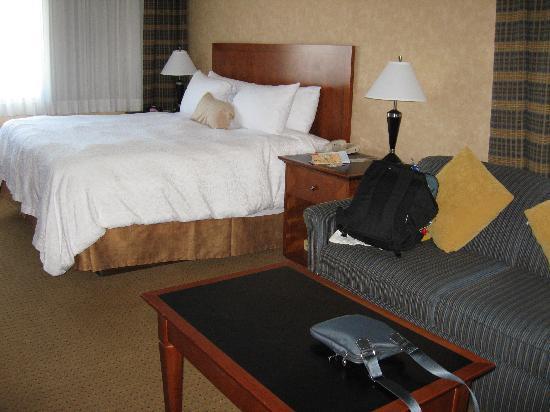 BEST WESTERN PLUS Suites Downtown: lit king size très moelleux!
