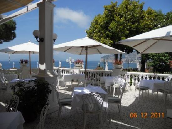 Europa Palace Grand Hotel: Most Beautiful Dining Terrace