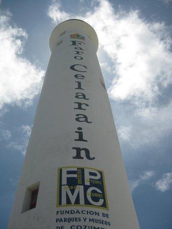 Faro Celerain Ecological Reserve: Lighthouse at Punta Sur