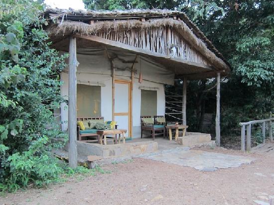 Wildlife Kenya Safaris - Day Trips: Our tent at Camp Oloshaiki