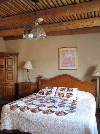 Mabel Dodge Luhan House: our room