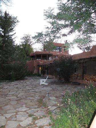 a view of Mabel Dodge Luhan House