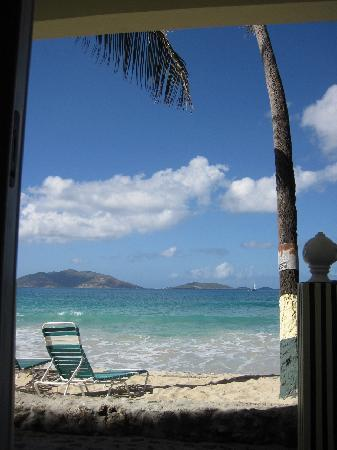 Sebastian's on the Beach: The view from inside the bedroom