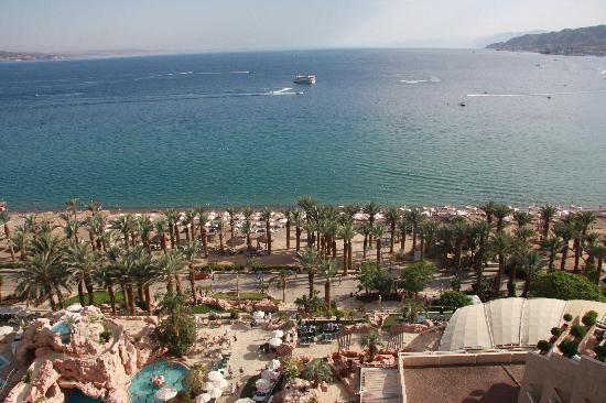 Dan Eilat: View from my room