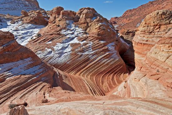 The Wave at Coyote Buttes: Above the Wave