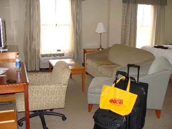Hampton Inn Myrtle Beach - West: The sweet King Suite!
