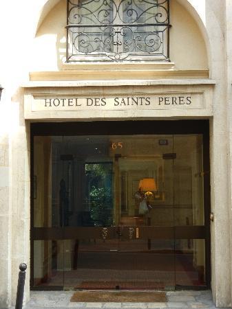 Hotel des Saints-Peres: Hotel des Saints Peres