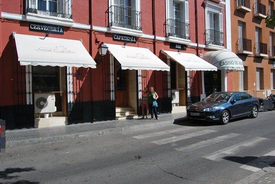Góngora Restaurante: Fachada