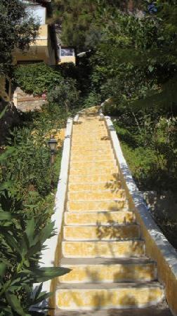 Belle Vue Hotel: die Treppen