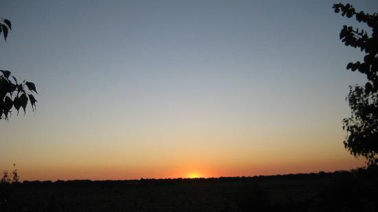 Casato Calabrese: tramonto dalla terrazza