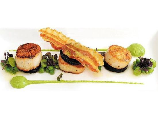 The Mains of Scotstown Inn: Scallops