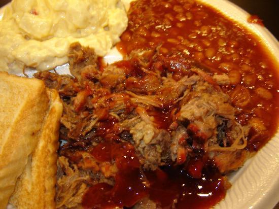 Bird Dog BBQ: BBQ Brisket & Beans