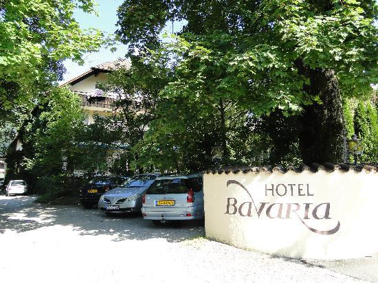 Hotel Bavaria: front of the hotel