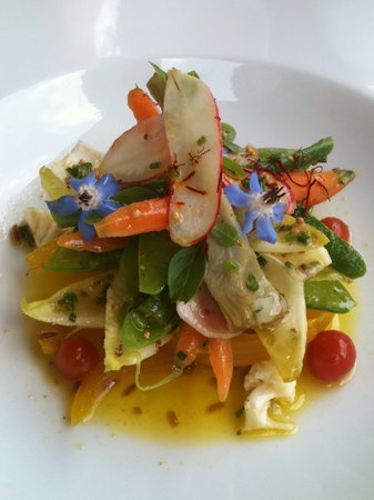 La Maison Jaune : simple summer salade
